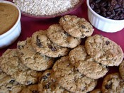 Oatmeal Raisin Wheat Cookies