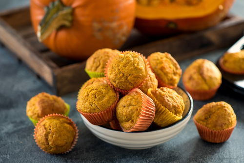 Pumpkin Party Muffins