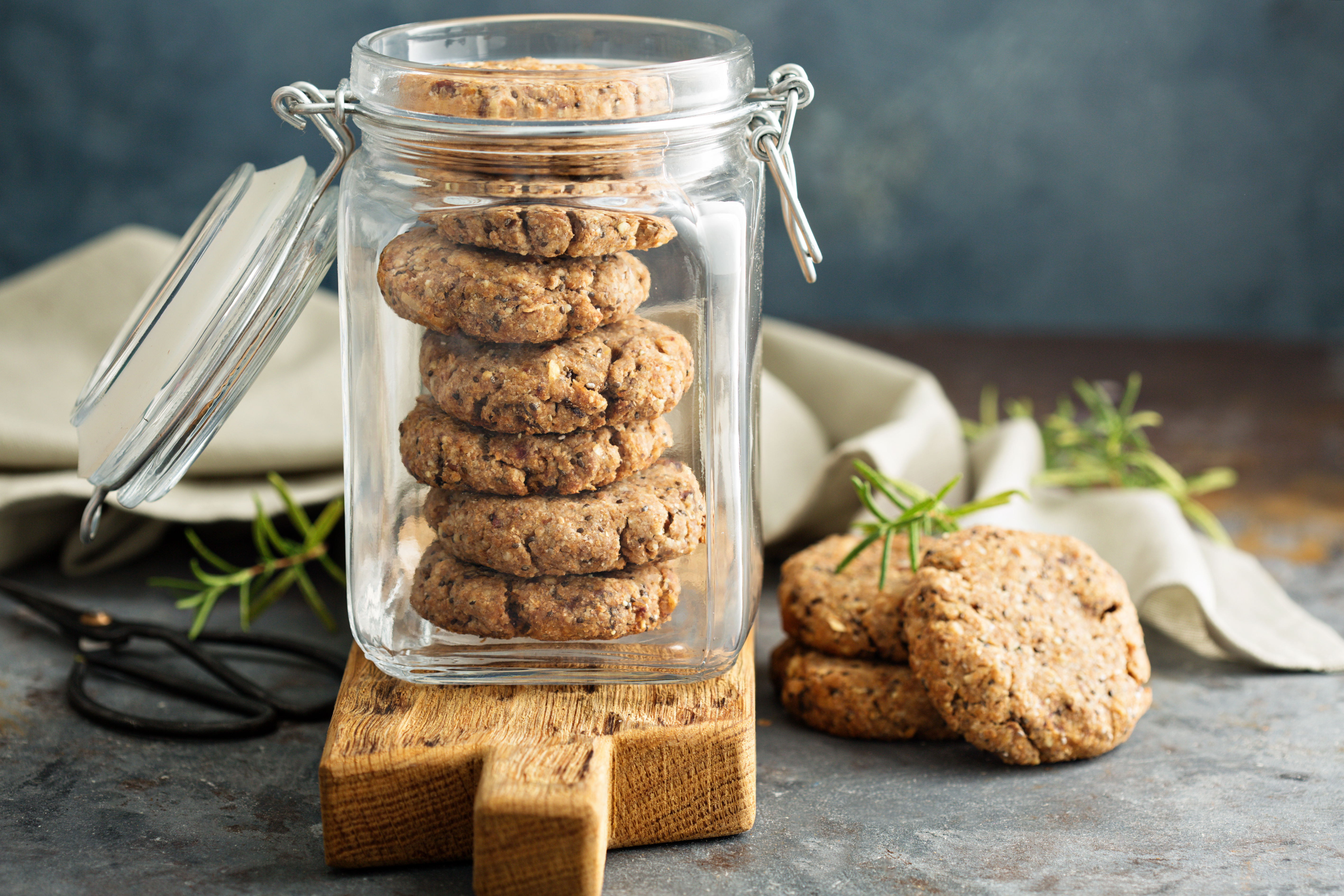 Brown Sugar Whole Wheat Cookies