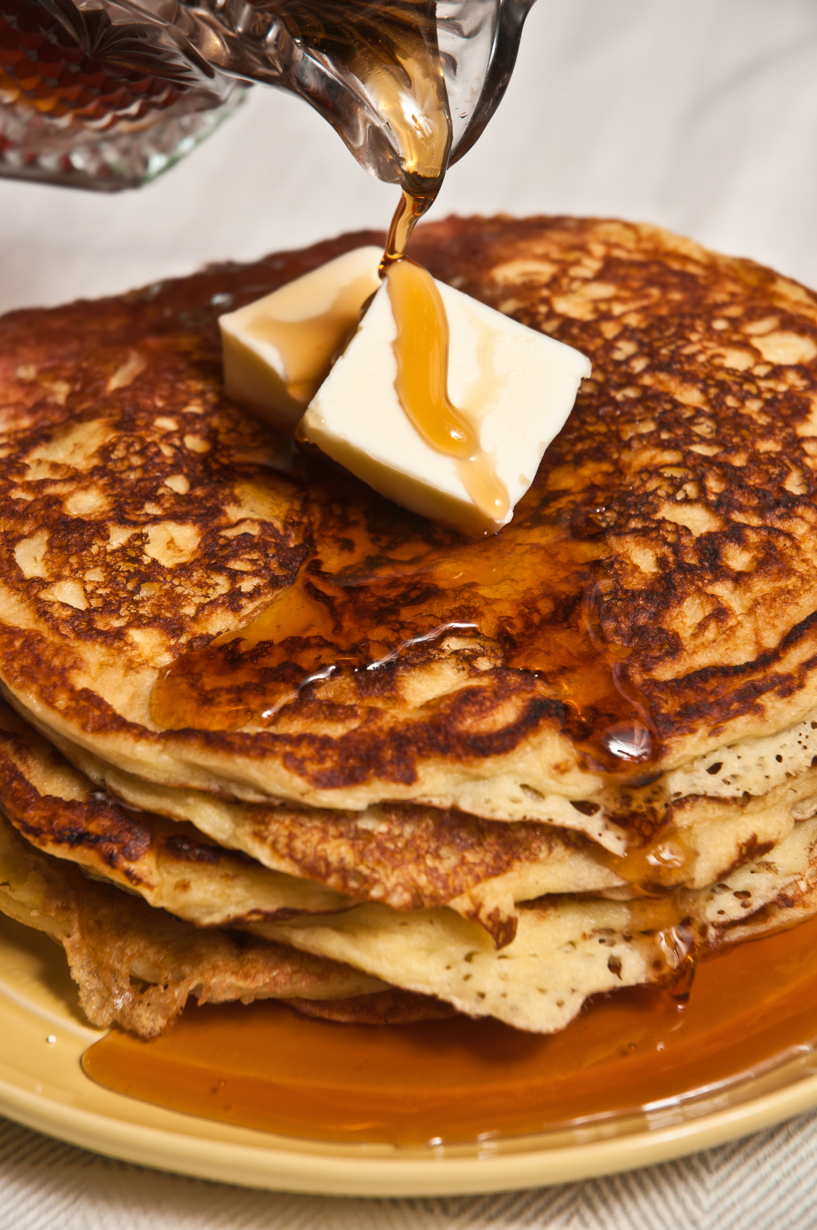 Light-as-a-Feather Whole Wheat Pancakes