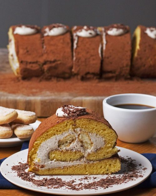 Tiramisu Jelly Roll
