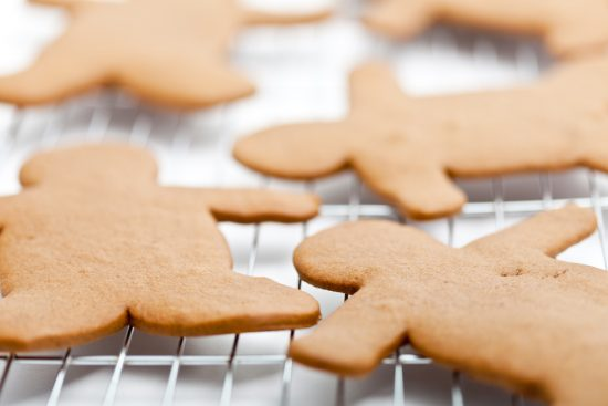 Gingerbread Mailman Cookies for Healthy, Happy Dogs