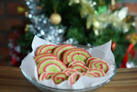 Pinwheels and Checkerboards Holiday Cookies