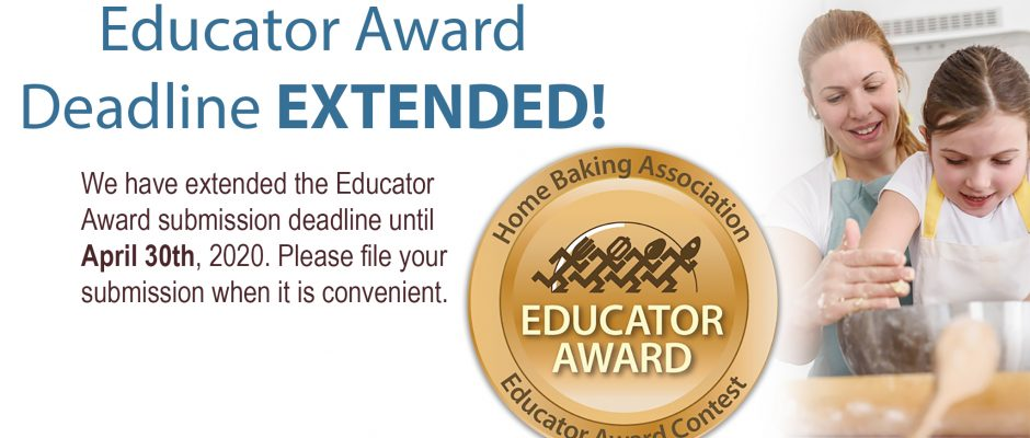 Educator Award Deadline is Near!