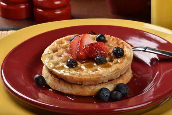 Crispy Whole Grain Waffle