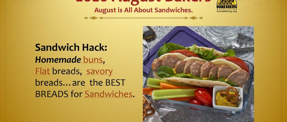 August Baking Calendar