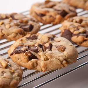 Black Walnut Chocolate Chunk Cookies