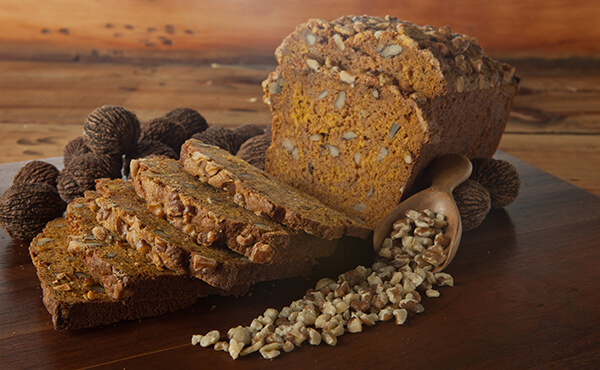 Black Walnut Pumpkin Quick Bread
