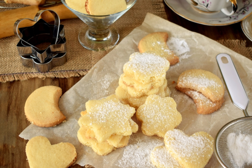 Christmas Shortbread Cookie