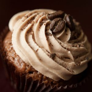 Kahlúa Cupcakes with Mocha Buttercream Frosting