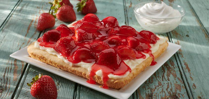 Strawberry Cream Cheese Shortcake