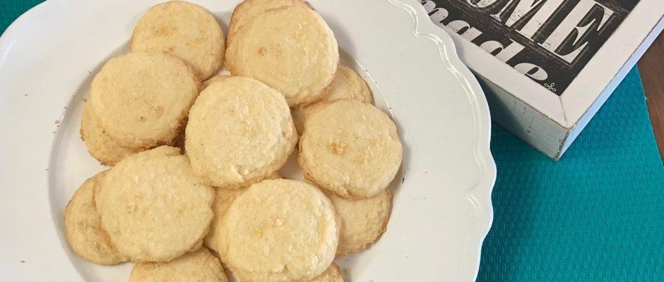 Gluten-Free Lemon Cornmeal Cookies