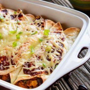 Easy Cheesy Enchiladas