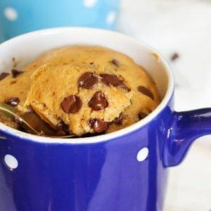 Banana Chocolate Chip Mug Cake