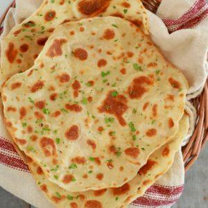 Flatbread Recipe using 3 Ingredients!