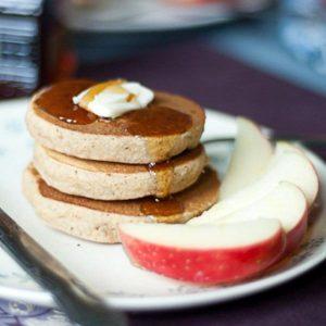 Gluten Free Apple Butter Pancakes