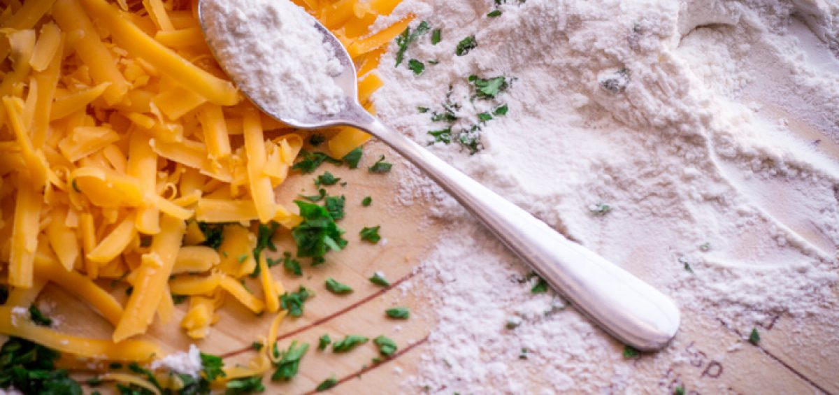 Cheddar Garlic Bites