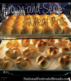 Brown-and-Serve Wheat Rolls