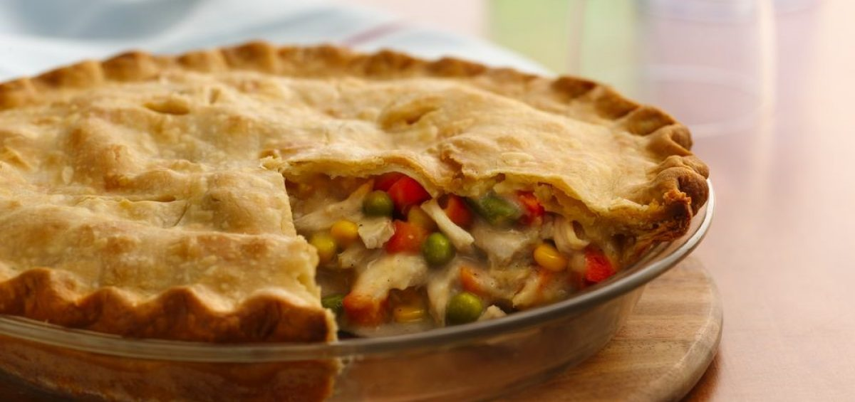 Easy as Pie Chicken Pot Pie
