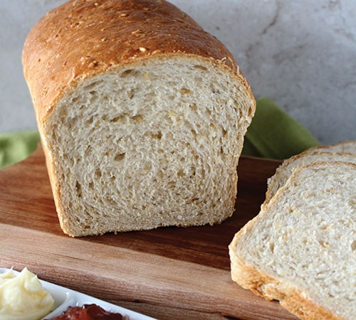 Quick and Easy Steel-Cut Oat Bread