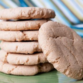 100% Whole Wheat Cinnamon-Sugar Cookies