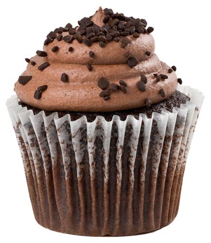 Mocha Nutella Cupcakes