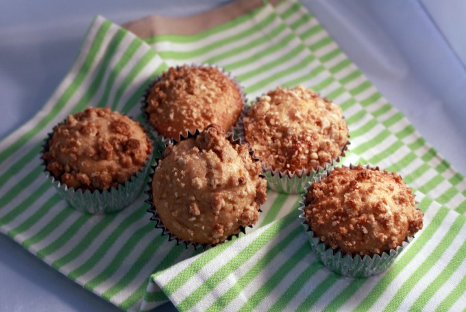 Apricot Streusel Muffins