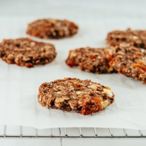 Oatmeal, Apricot and Pecan Cookies