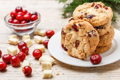 Cranberry White Chocolate Chip Cookie