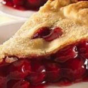 """Cherry Pie II (Makes one, 9"""" double crust pie)"""